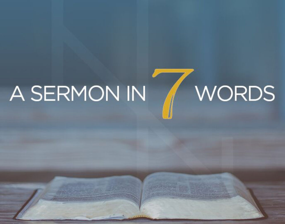 A Sermon in Seven Words Image