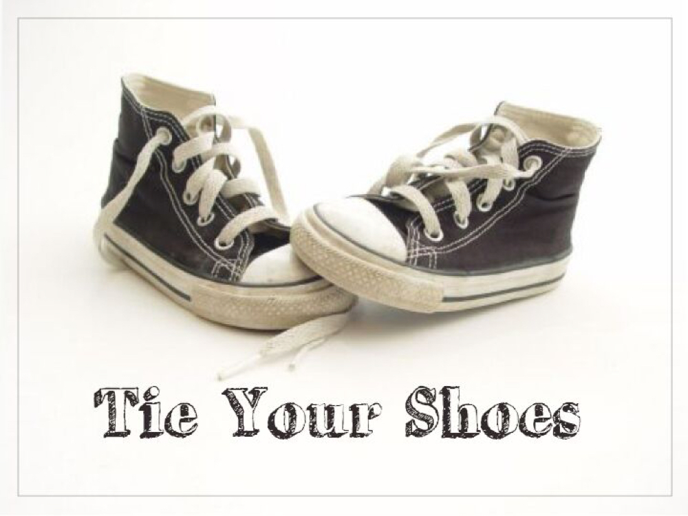 Tie Your Shoes  Image